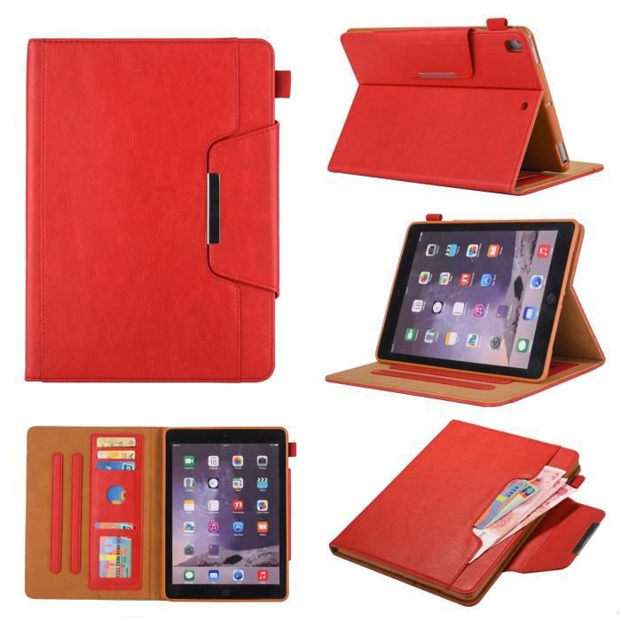 Coque pour APPLE iPad MRM22NF/A - Ecran Rétina 9,7-, Housse avec étui de protection auto réveil / sommeil