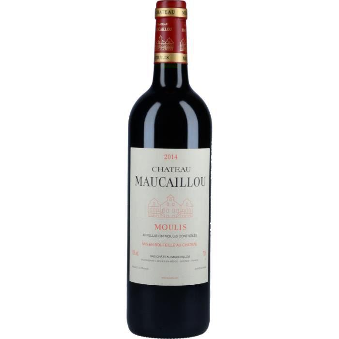Vin Rouge - Château Maucaillou 2014 - Bouteille 75cl