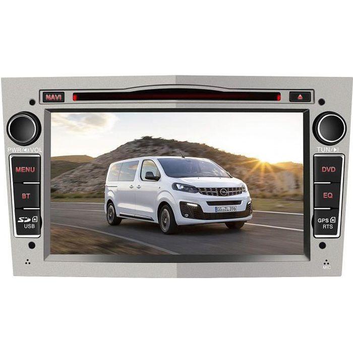 AWESAFE 7 Pouces Autoradio GPS Navigateur pour Voiture pour Opel unité de tête stéréo Voiture 2 Din avec Lecteur de CD DVD USB SD