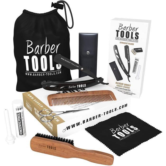 Kit/Set/Coffret (6 produits) d'entretien et de soin pour barbe et rasage