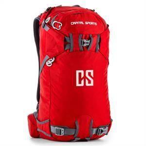 Capital Sports CS 30 - Sac à dos sport et loisirs (randonnée, marche, camping) en nylon étanche d'un volume de 30L avec dos renforcé