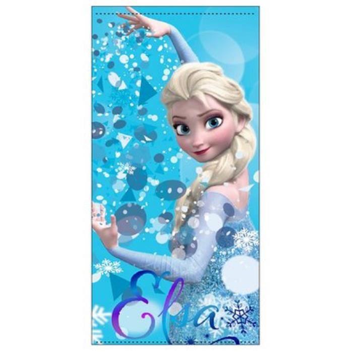 serviette de plage la reine des neiges