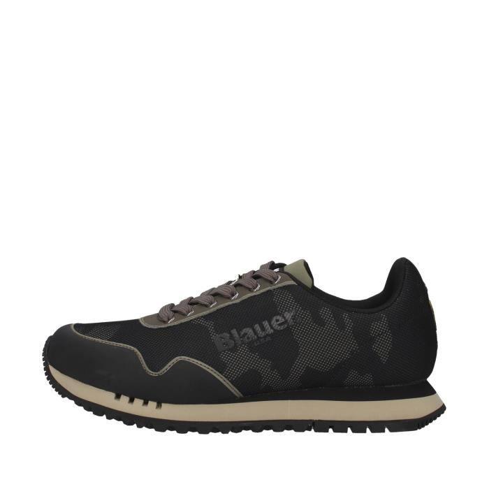 Blauer F0DENVER05/CAM chaussures de tennis faible homme VERT