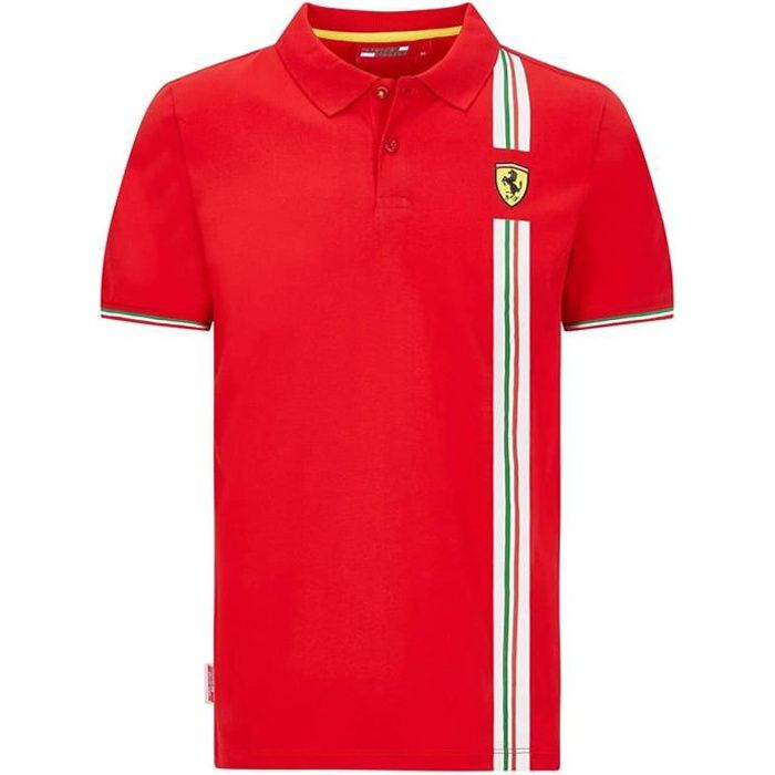 Polo Ferrari Scuderia Team Motorsport F1 Officiel Formule 1