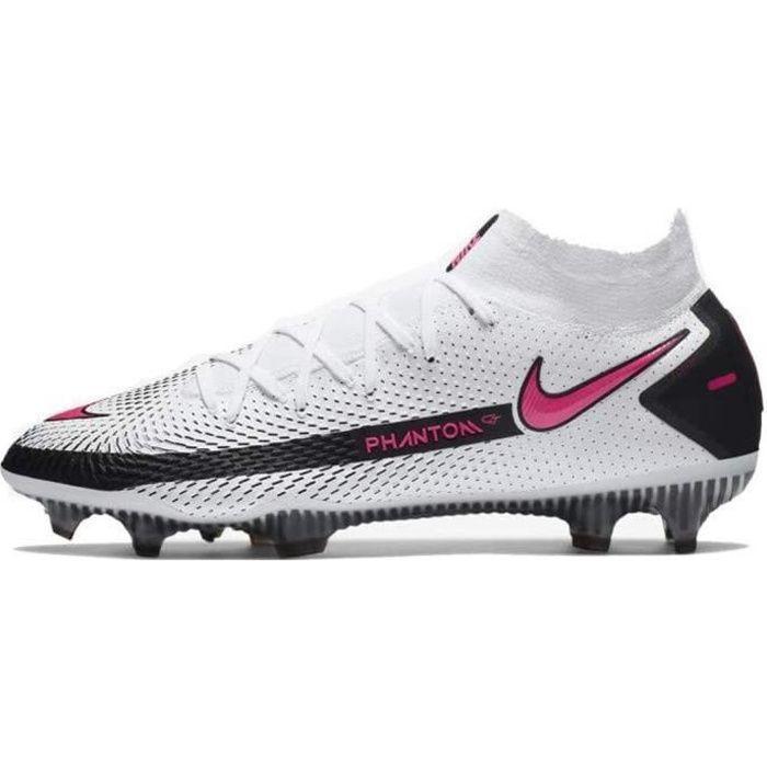 Nike Chaussures de Football Phantom Gt Elite Dynamic Fit Fg Blanc 41