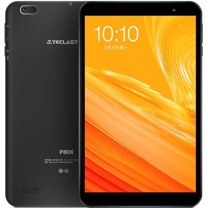 TECLAST P80X Tablette PC 2 Go + 32 Go 8 Pouces Android 9.0