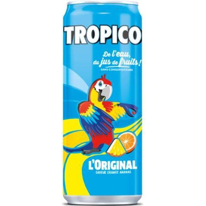 Tropico exotique Pack de 33 cl x 24