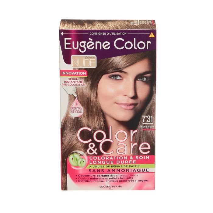 EUGENE COLOR Coloration 7.31 Blond nude