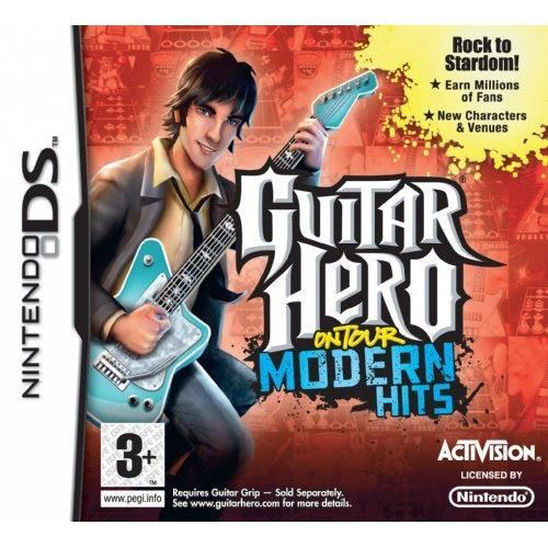 JEU DS - DSI Guitar Hero On Tour: Modern Hits - Game Only Ni…