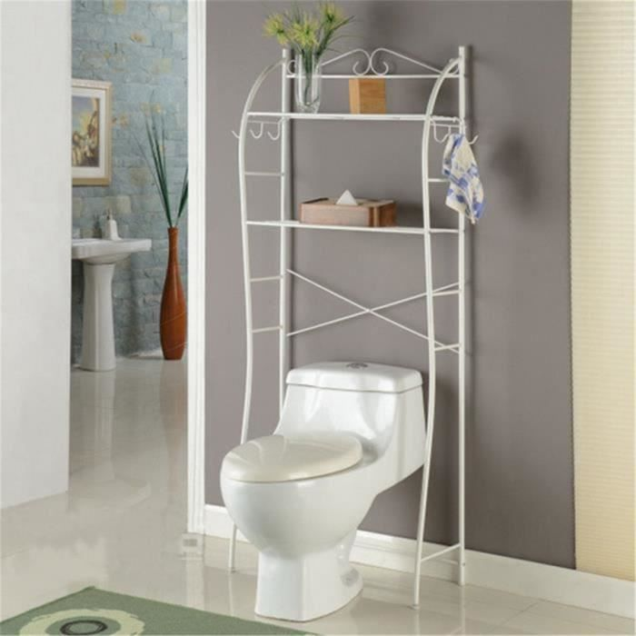 yontree meuble dessus wc toilettes etag re de rangement salle de bain buanderie achat vente. Black Bedroom Furniture Sets. Home Design Ideas