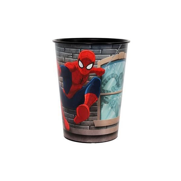 spiderman gobelet en plastique achat vente verre. Black Bedroom Furniture Sets. Home Design Ideas