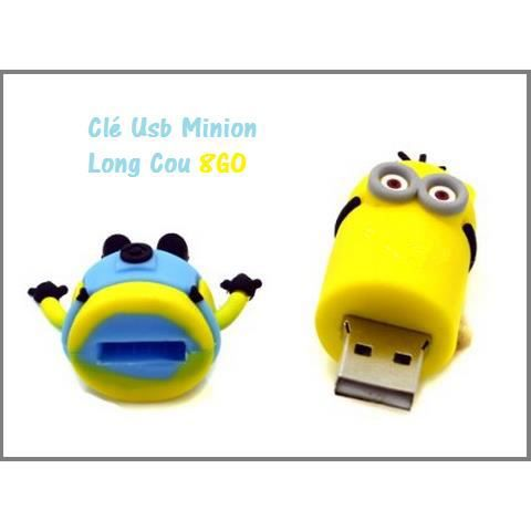 cl usb minion long cou 8go prix pas cher cdiscount. Black Bedroom Furniture Sets. Home Design Ideas