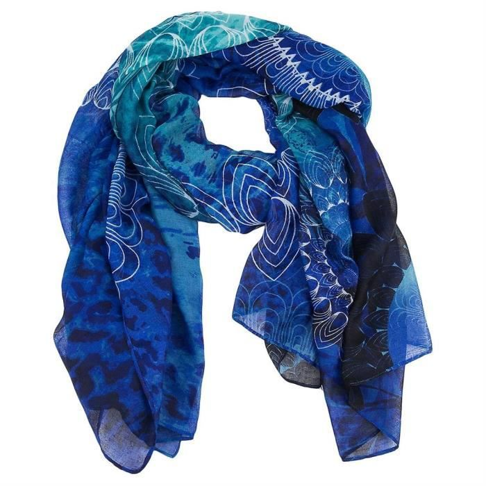 ECHARPE - FOULARD foulards  /  echarpes foulard_neko rectangle femme