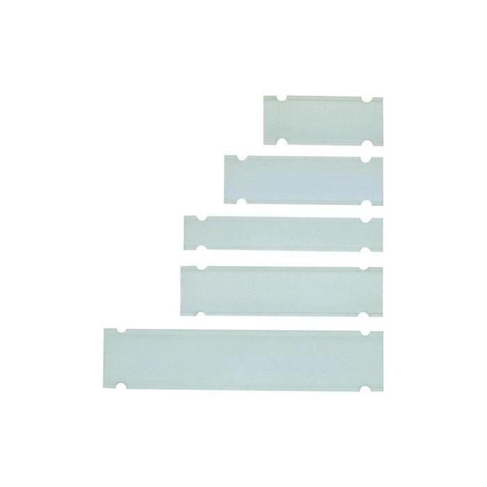Étiquette classement Porte-repère A x B x C x D 12.2 x 10.4 x 38 x 5…