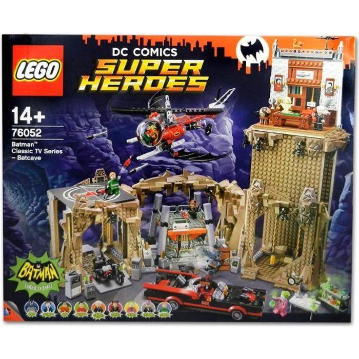 ASSEMBLAGE CONSTRUCTION Lego 76052 Super Heroes : Batman : La Batcave aill