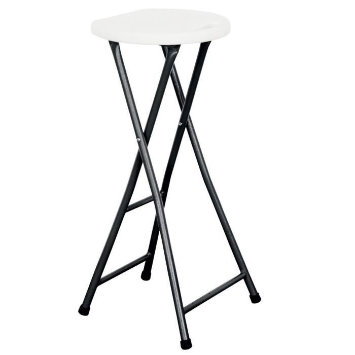 tabouret de bar pliant achat vente tabouret de bar french days d s le 27 avril cdiscount. Black Bedroom Furniture Sets. Home Design Ideas