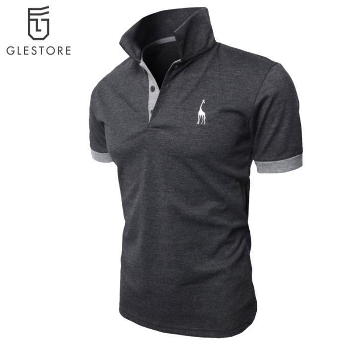 Vêtement Homme Polo de mode Chemise gris