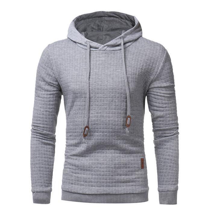 Hommes Sweat-shirt à manches longues à capuche Sweatshirts à Capuche Usure Streetwear hoodies