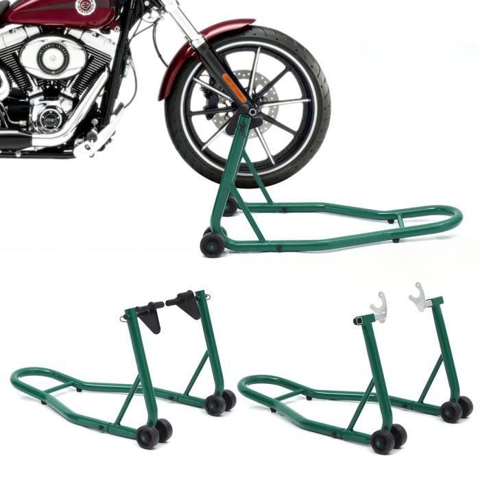 Moto support moto élévateur avant arrière très stable