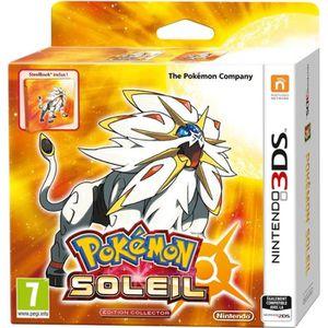 JEU 3DS Pokémon Soleil Fan Edition (Jeu + Steelbook) Jeu 3