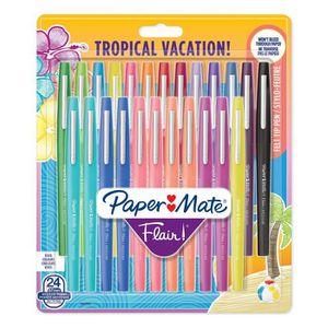Stylo - Parure PAPER MATE Lot de 24 stylos feutre Flair - Pointe