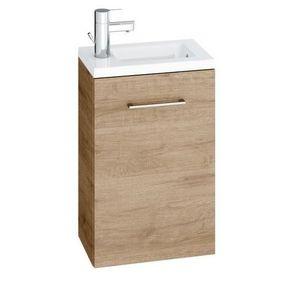 MEUBLE VASQUE - PLAN Meuble pour lave-mains série MALTO - Couleur : Asp