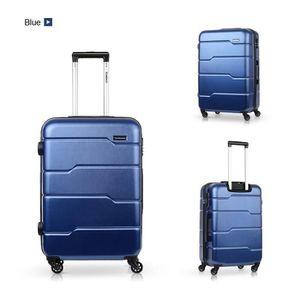 SET DE VALISES TOMSHOO Ensemble de bagages de luxe 3PCS Spinner C