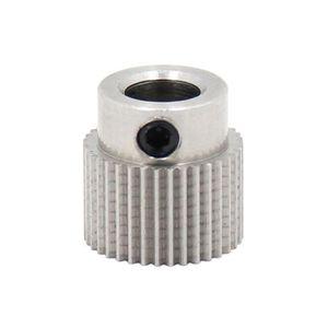 Roue dExtrudeuse Pi/èces de lImprimante 3D Engrenage 40 Dents Roue dExtrudeuse en Laiton Compatible avec CR-10 Ender 3 Pro 10 S5 CR-10S S4 Ender 3