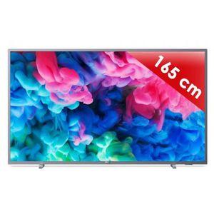 Téléviseur LED TV LED plus de 52 pouces PHILIPS TV - 65 PUS 6523/