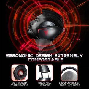 CASQUE AVEC MICROPHONE Casque Gamer Ps4 Casque Audio Avec Micro pour Pc X