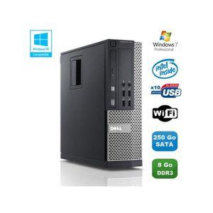 UNITÉ CENTRALE  PC DELL Optiplex 790 SFF Intel Pentium G840 2.8Ghz