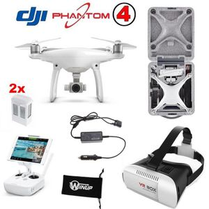 DRONE Drone WINUP® Pack DJI Phantom 4 | 3 batteries + Ma