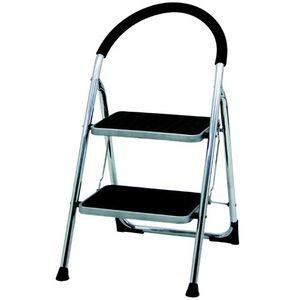 ECHASSES Chaise escabeau à 2 marches
