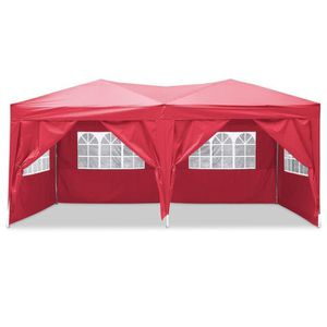 TONNELLE - BARNUM ANCHEER Tente de réception pliante 3 x 6m, Tonnell