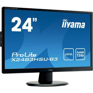 ECRAN ORDINATEUR Ecran PC Multimédia - IIYAMA ProLite X2483HSU-B3 -