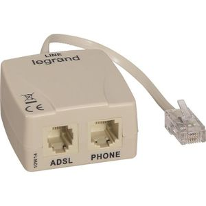 PRISE LEGRAND Filtre ADSL pour prise RJ 45