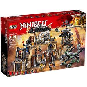 ASSEMBLAGE CONSTRUCTION LEGO® NINJAGO® 70655  La Tanière du Dragon