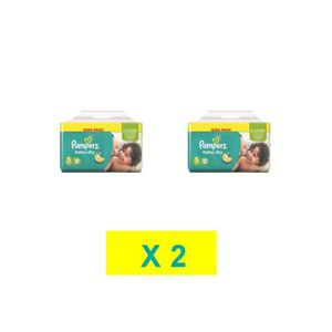 COUCHE COUCHES PAMPERS BABY DRY TAILLE 5 ( 2 x 108 COUCHE