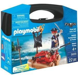 FIGURINE - PERSONNAGE PLAYMOBIL 5655 Valisette Pirates