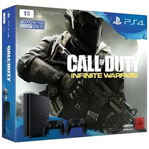 CONSOLE PS4 Nouvelle PS4 Slim 1 To + 2 Manettes + Jeu Call of