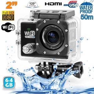 CAMÉRA SPORT Camera sport wifi étanche caisson waterproof 12 MP