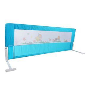 BARRIÈRE DE LIT BÉBÉ 150cm Garde-corps de barrière de sécurité de lit p