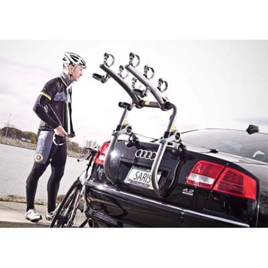 Saris Bones Gray Taille 2-vélo coffre Bike Rack