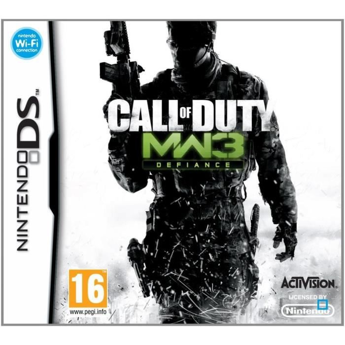 JEUX DS CALL OF DUTY MODERN WARFARE 3 / Jeu console DS