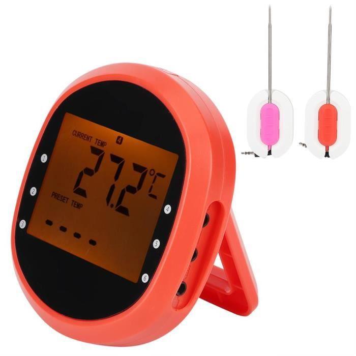 AIZHIYUAN Thermomètre Numérique Pour Cuisine