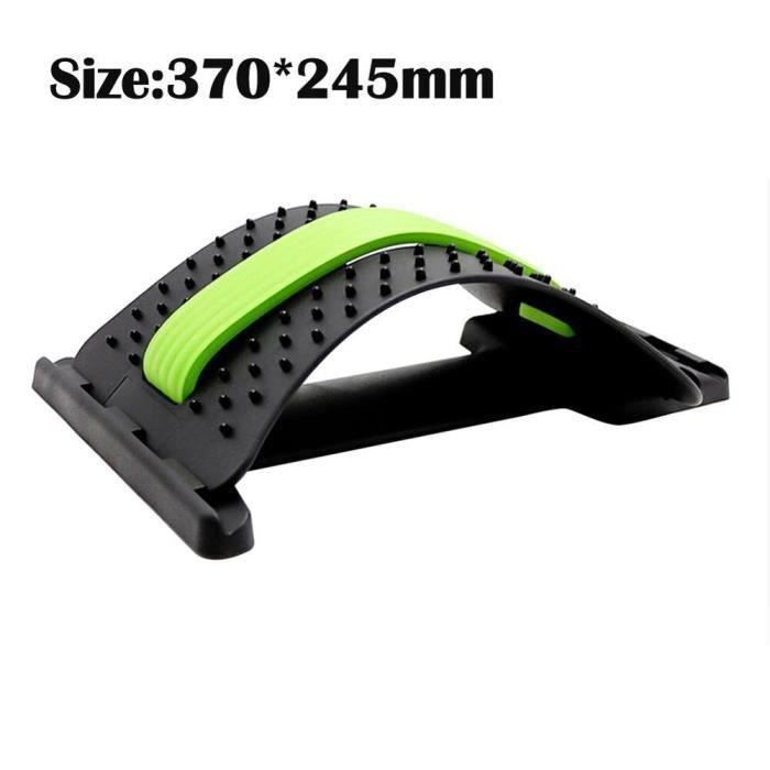 barre pour traction -Dos Strecher équipement masseur magique Stretch Fitness soutien lombaire Re...- Modèle: Green - ZOAMFWZDA06948