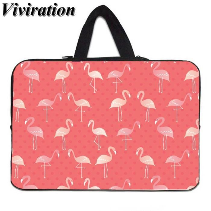 Sacoches & Housses Ordinateur,Viviration housse de transport pour HP MacBook Air 11-Google Chromebook - Type Flamingo001-14 pouces