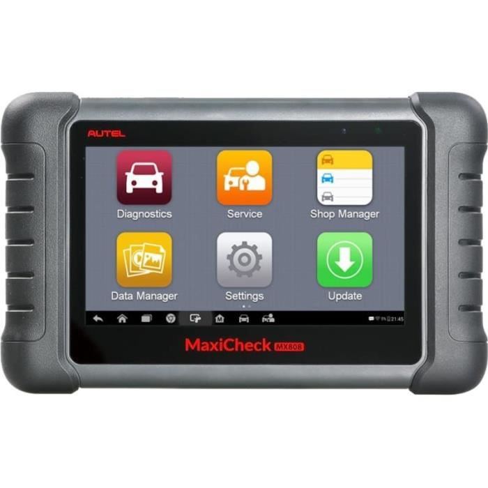 AUTEL MX808 / MD808 Valise diagnostic-Version Europe-Assistance en France-2 ans de garantie