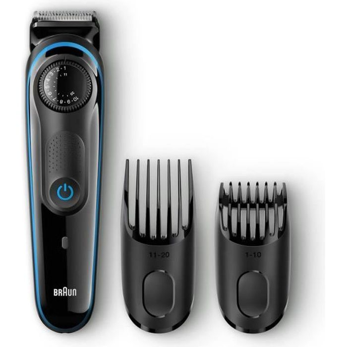 BRAUN Tondeuse à barbe BT3040 précision