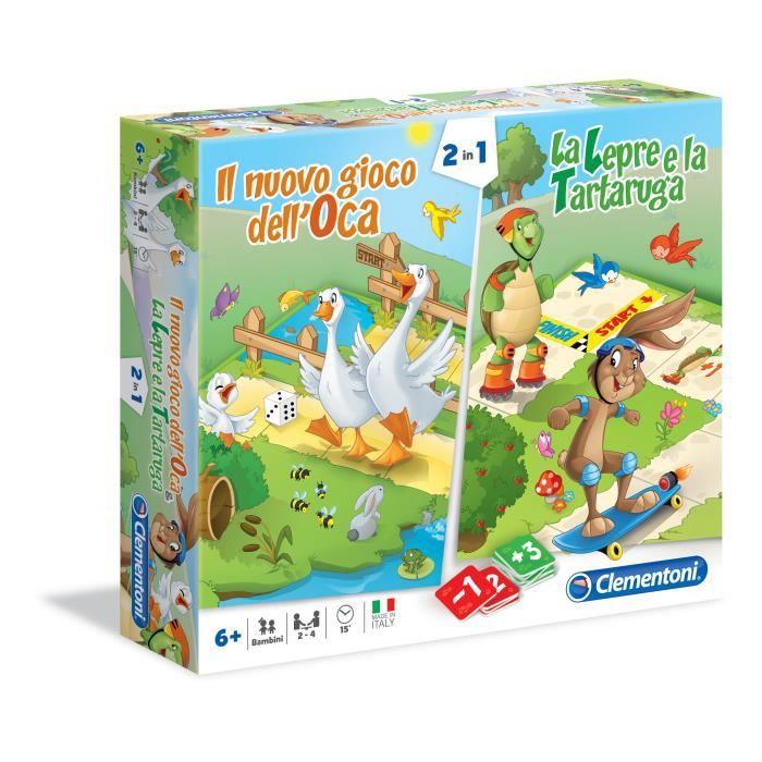 Clementoni 16065, Jeu de plateau d'apprentissage, Enfants, Garçon-Fille, 6 année(s), Italien, Carton